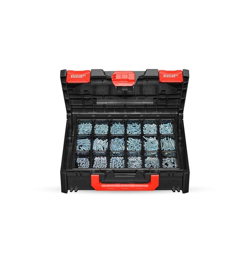 Skruvar: Gängskruvar, ISO 1207 i STRAUSSbox 118 midi