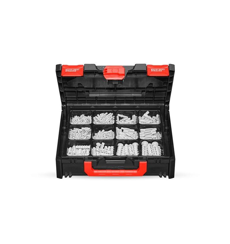 Dymling: Monterings-plugg-sortiment i STRAUSSbox 118 midi