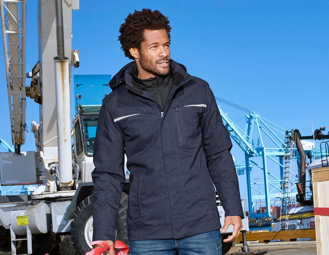 Work Jackets: Functional jacket e.s.motion denim + indigo