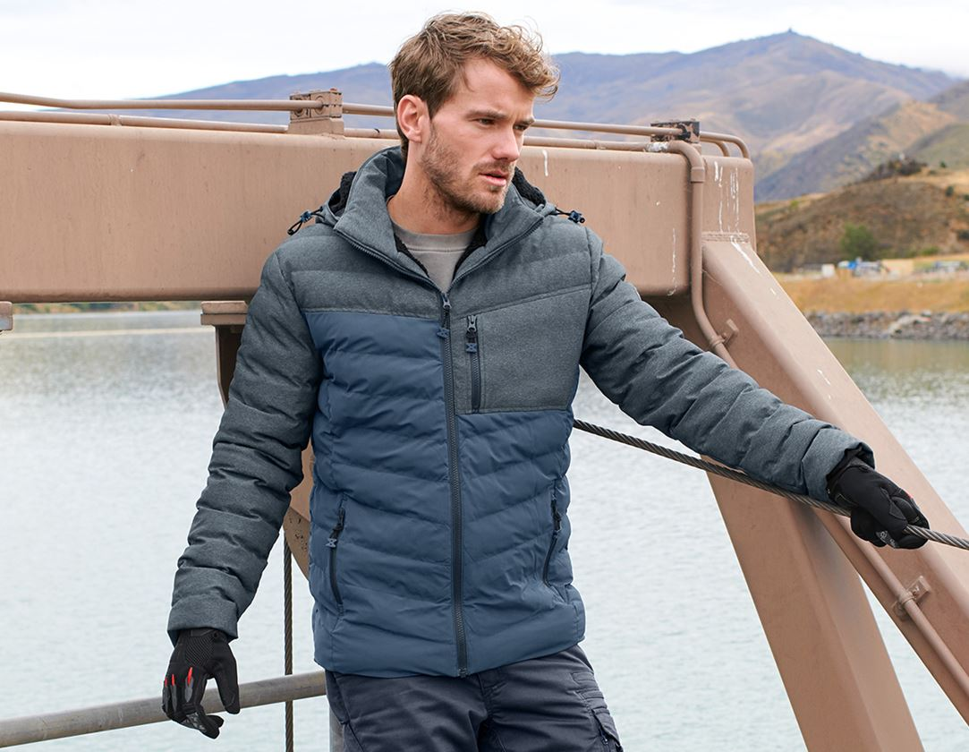 Work Jackets: Winter jacket e.s.motion ten + slateblue
