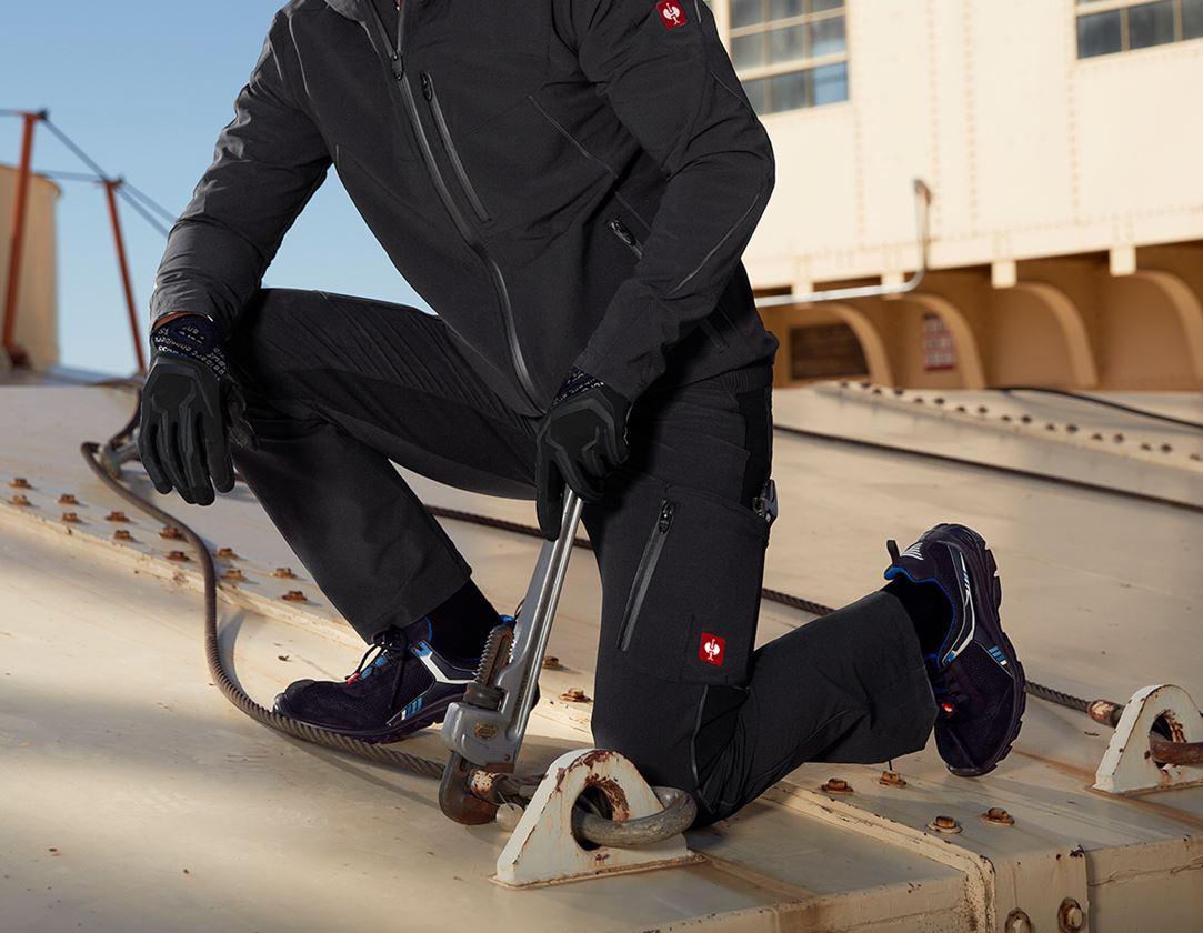 Arbetsbyxor: Cargobyxa e.s.vision stretch, herrar + svart