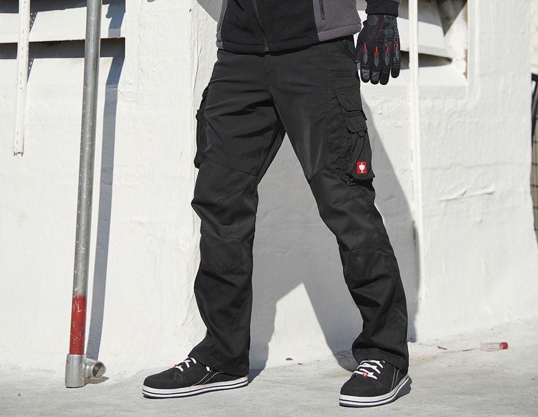 Arbetsbyxor: Cargobyxa e.s.comfort + svart