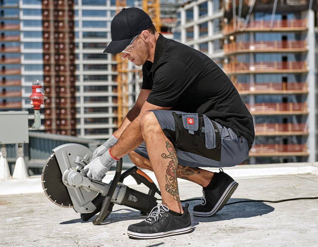 Work Trousers: Shorts e.s.motion + grey/black 1