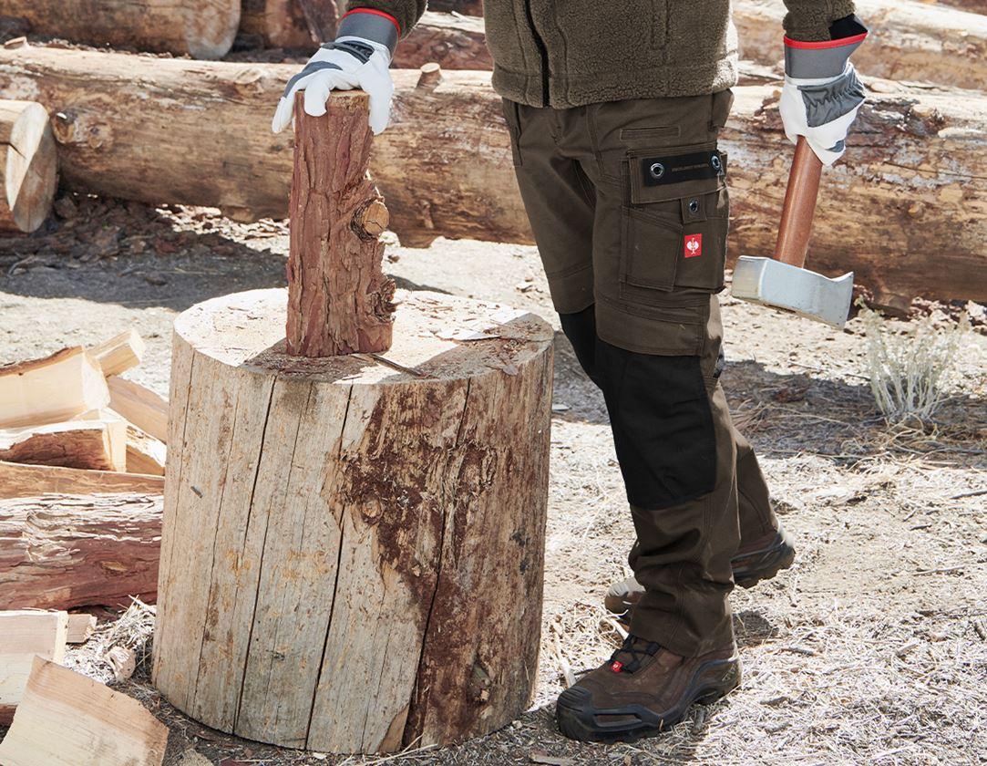 Arbetsbyxor: Midjebyxa e.s.roughtough + bark