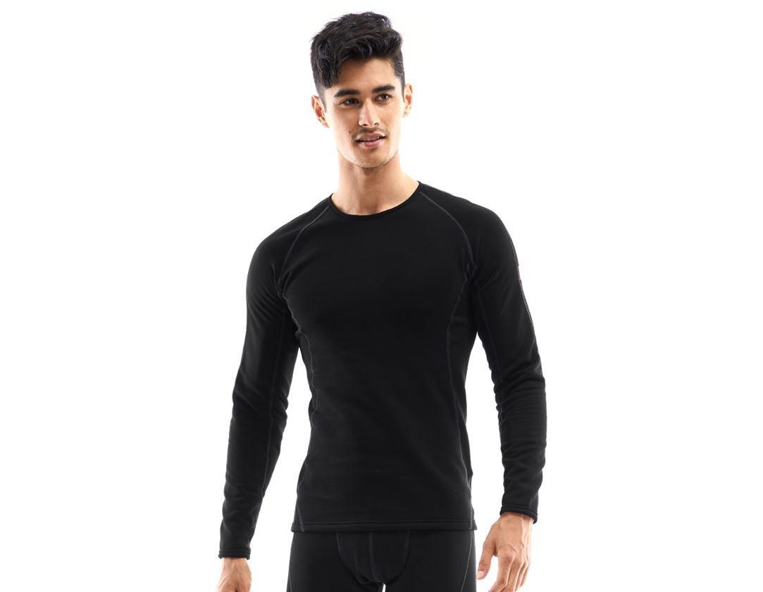 Underkläder    Underställ: e.s. långärmad topp thermo stretch - x-warm + svart
