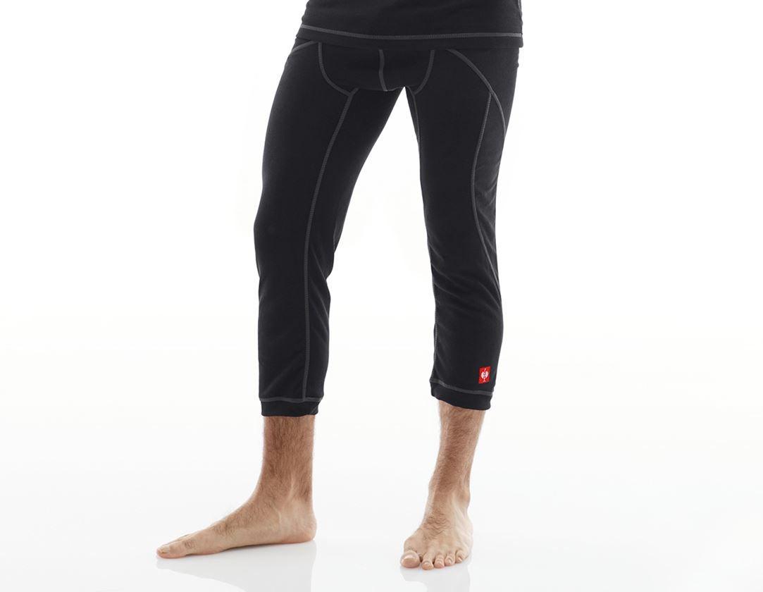 Underkläder |  Underställ: e.s. 3/4-långkalsong basis-warm + svart
