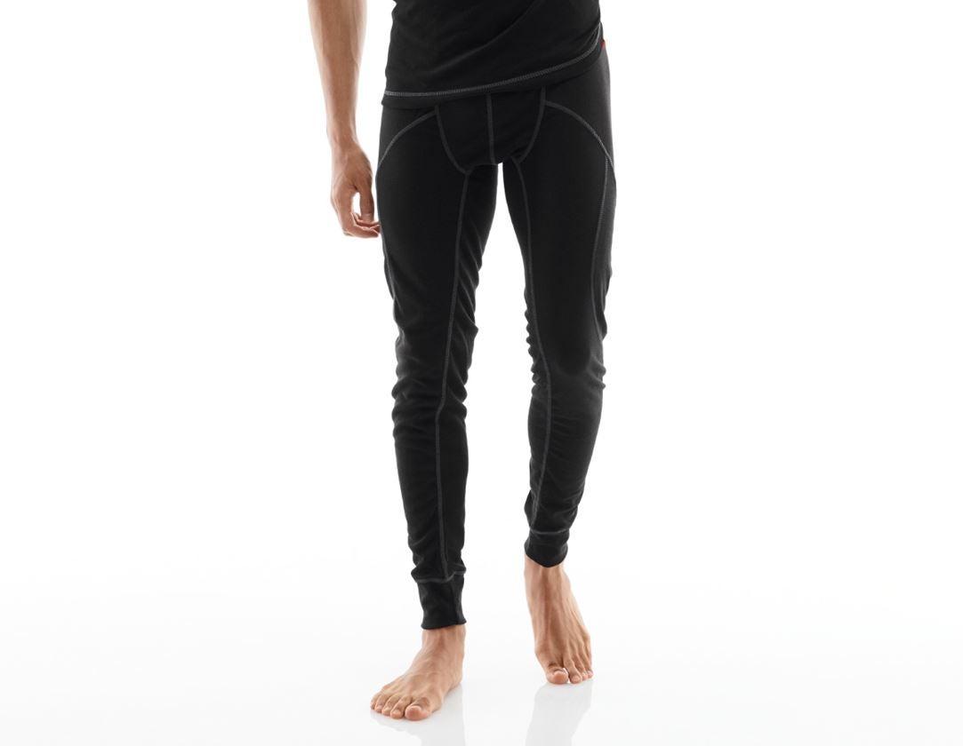 Underkläder |  Underställ: e.s. långkalsong basis-warm + svart