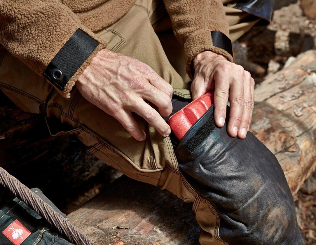 Knäskydd: e.s. knäskydd + röd