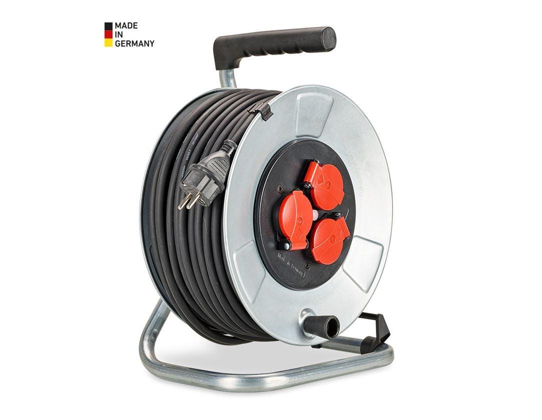 Elektronik: stålplåt-kabeltrumma inomhus