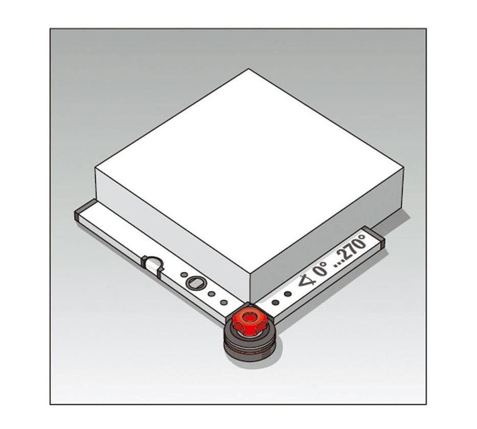 Measuring tools: BMI byggvinkel med vattenpass
