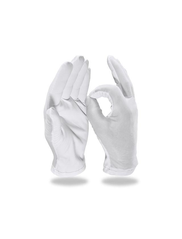 Textil: Urmakar handskar, 12-pack + vit