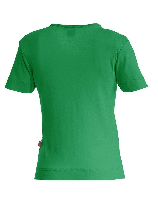 Shirts, Pullover & more: e.s. T-shirt cotton V-Neck, ladies' + grassgreen 1