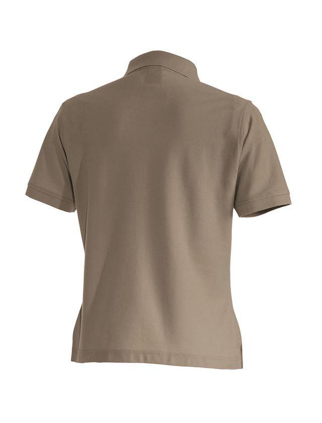 Shirts, Pullover & more: e.s. Polo shirt cotton, ladies' + khaki 1
