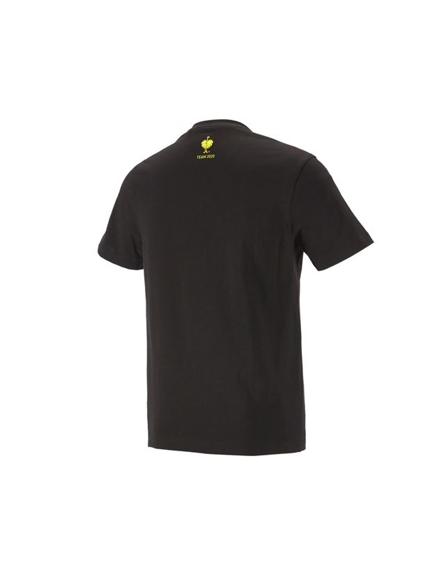 Överdelar: e.s. T-shirt Team 2020 + svart/varselgul 1