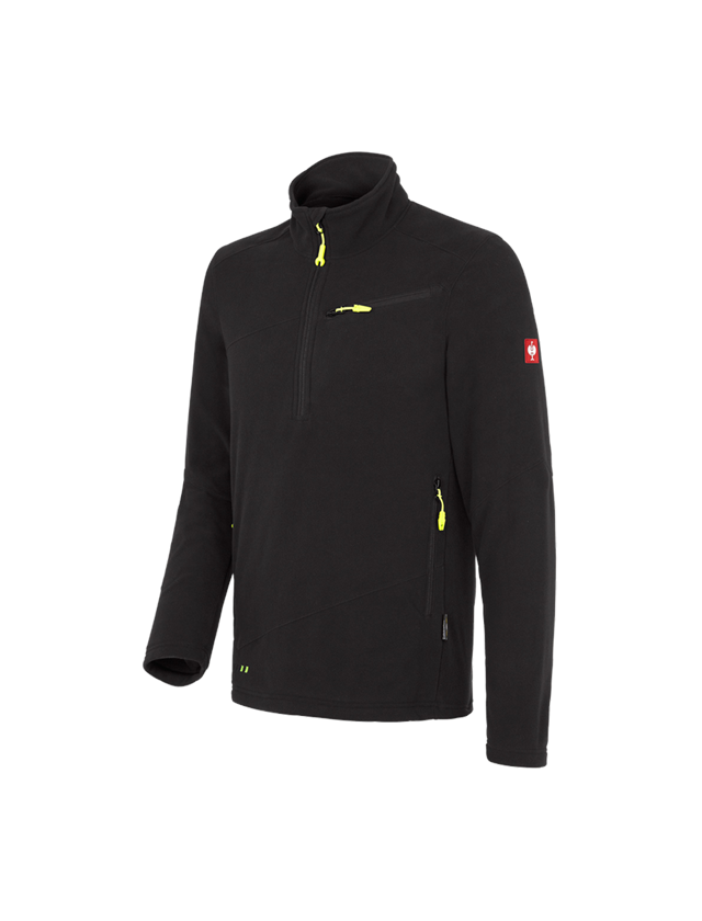 Shirts, Pullover & more: Fleece troyer e.s.motion 2020 + black