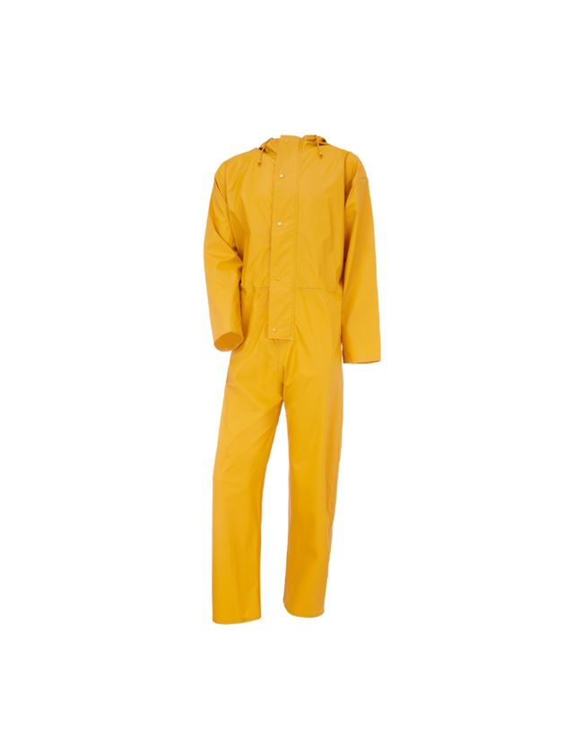 Overaller: Flexi-Stretch overall + gul