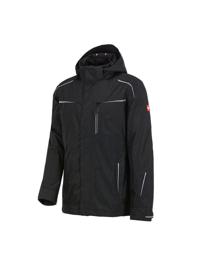 Work Jackets: 3 in 1 functional jacket e.s.motion 2020, men's + black/platinum