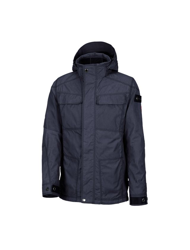 Work Jackets: e.s. Functional jacket cotton touch + midnightblue