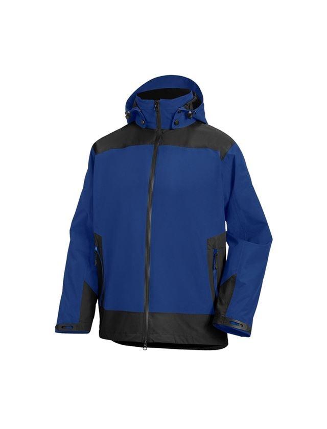 Work Jackets: e.s. 3 in 1 functional jacket, men + royal/black
