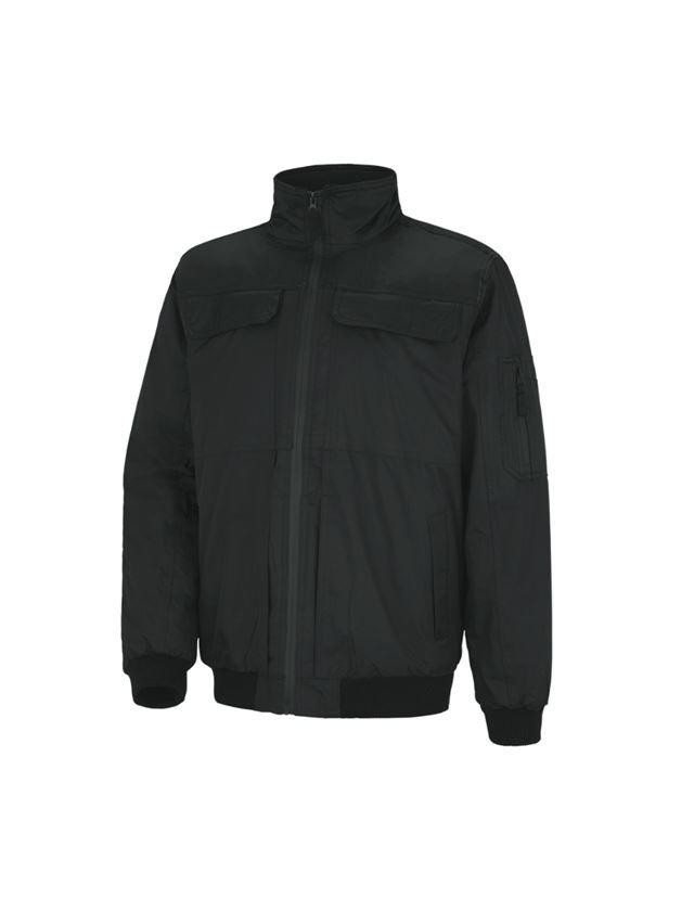 Work Jackets: STONEKIT Pilot jacket Viborg + black
