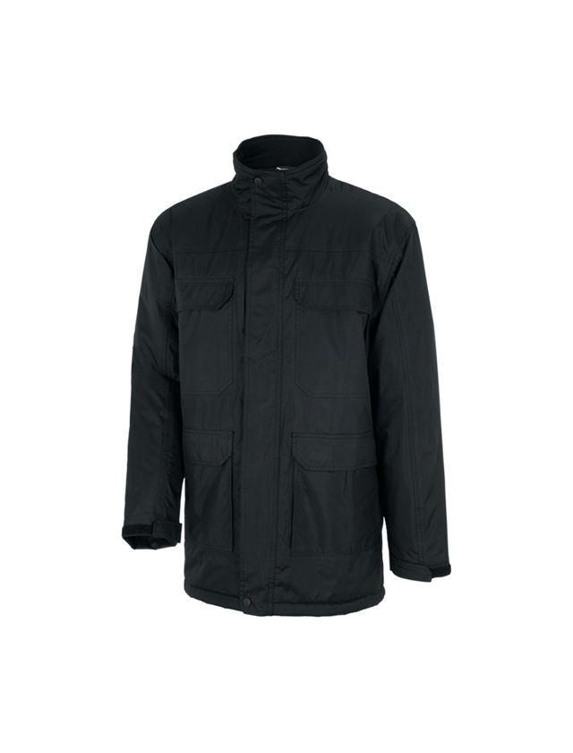 Work Jackets: STONEKIT Parka Viborg + black
