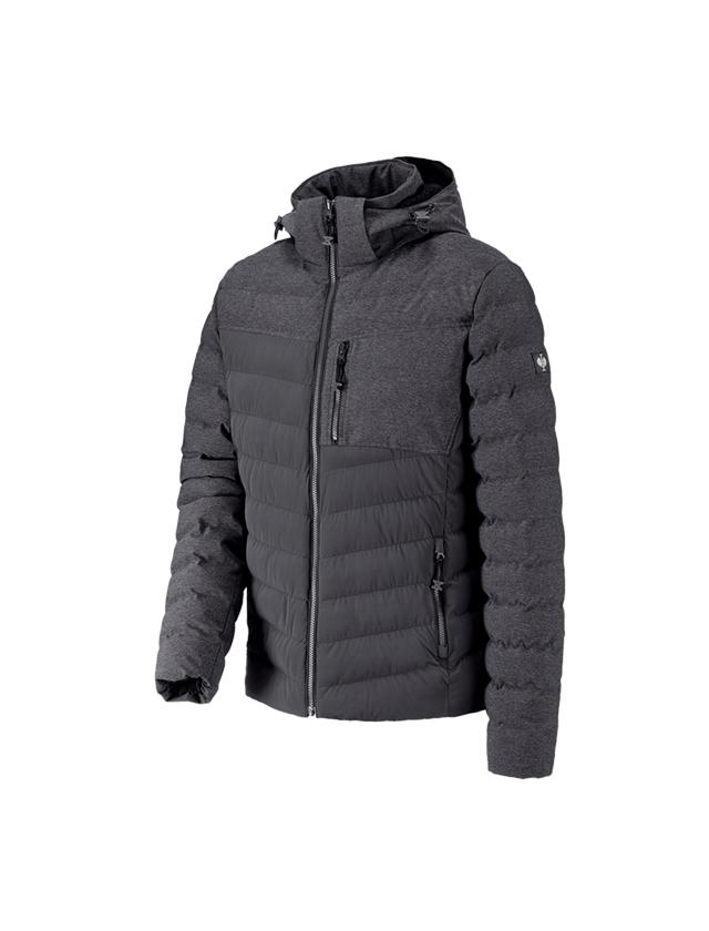 Work Jackets: Winter jacket e.s.motion ten + oxidblack