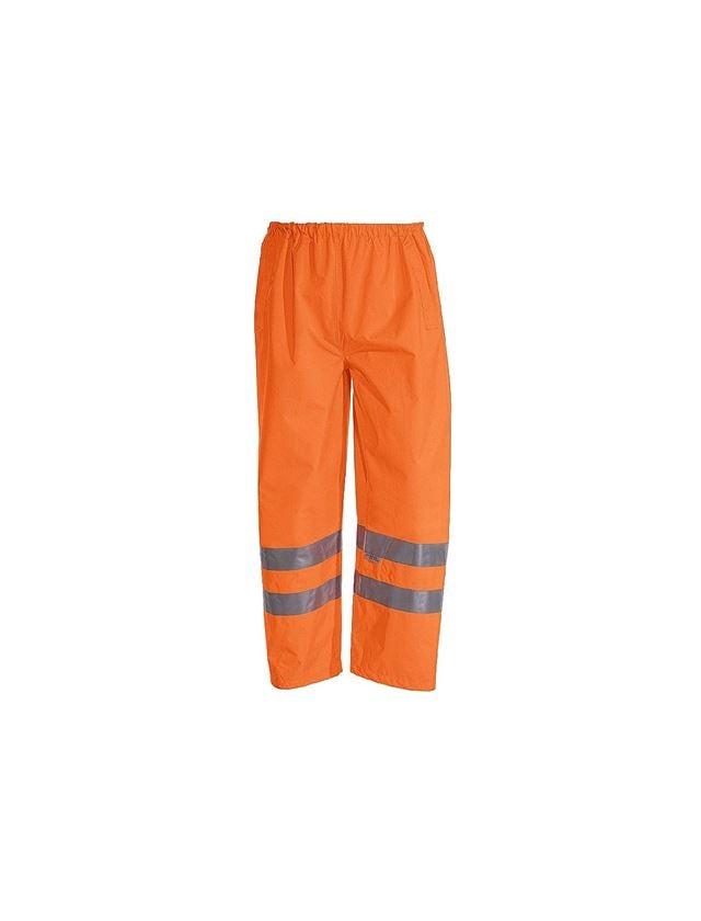 Work Trousers: STONEKIT High-vis trousers + high-vis orange