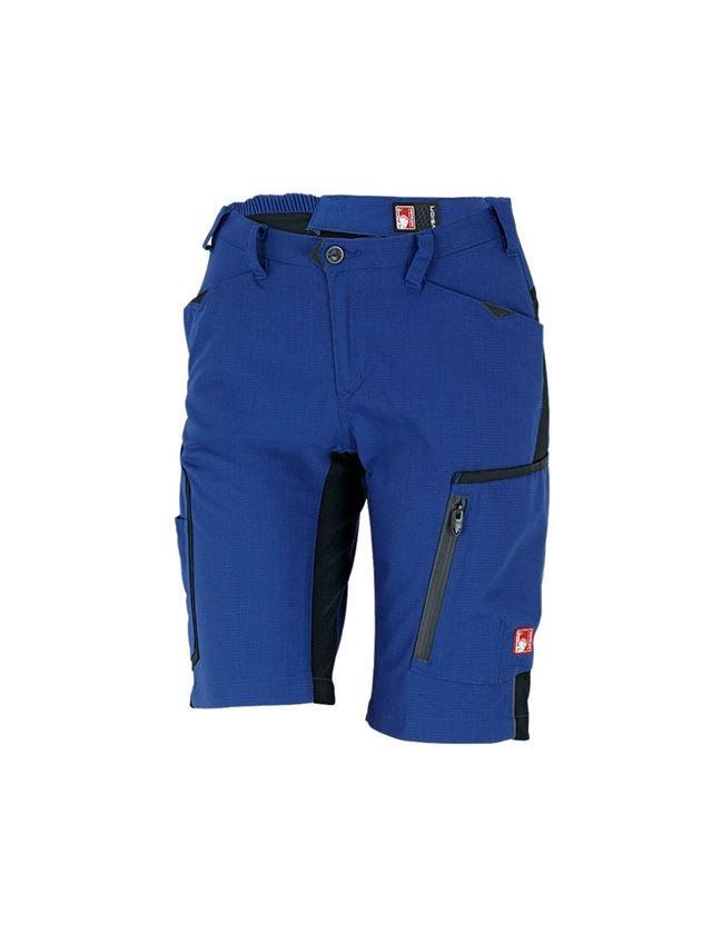Arbetsbyxor: Shorts e.s.vision, dam + kornblå/svart