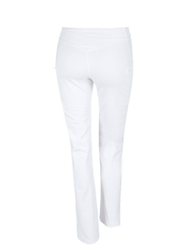 Work Trousers: e.s. Work jazz pants + white 2