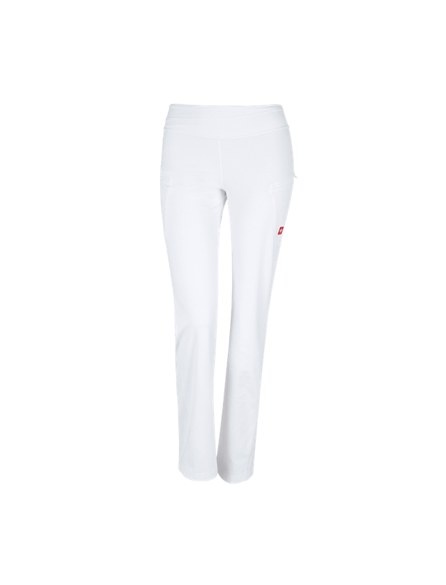 Work Trousers: e.s. Work jazz pants + white