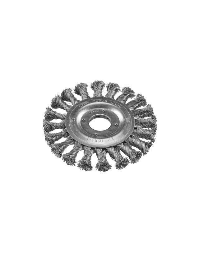Slipverktyg: Flätad rundborste