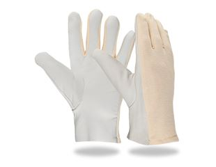 Nappa leather gloves, light