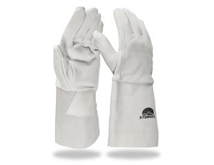 Nappa leather welder's gloves