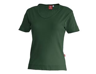 e.s. T-shirt cotton V-Neck, ladies'