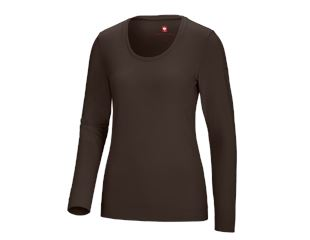 e.s. Longsleeve cotton stretch, dam