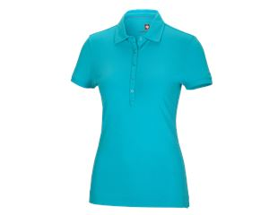 e.s. Polo-Shirt cotton stretch, dam