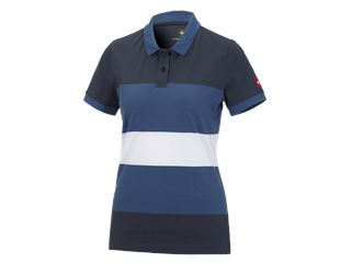e.s. Pique-Polo cotton stripe, dam