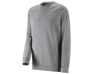 e.s. Sweatshirt cotton stretch, long fit