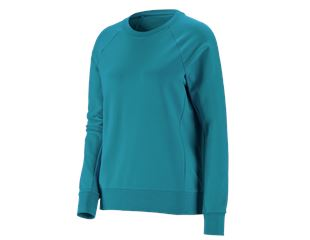 e.s. Sweatshirt cotton stretch, dam