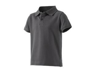 e.s. Polo-Shirt cotton stretch, barn