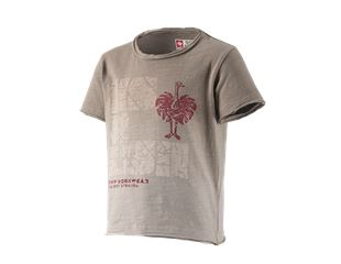 e.s. T-Shirt denim workwear, children's