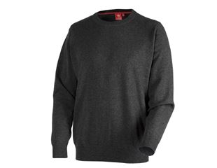 e.s. Knitted pullover, round neck