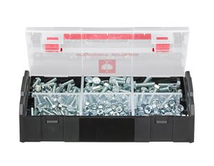 Hex screw DIN933 and hex nut DIN934, 350 pieces