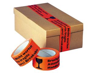 Adhesive tape Fragile