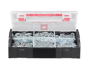 Washers, DIN 125, 1000 pieces