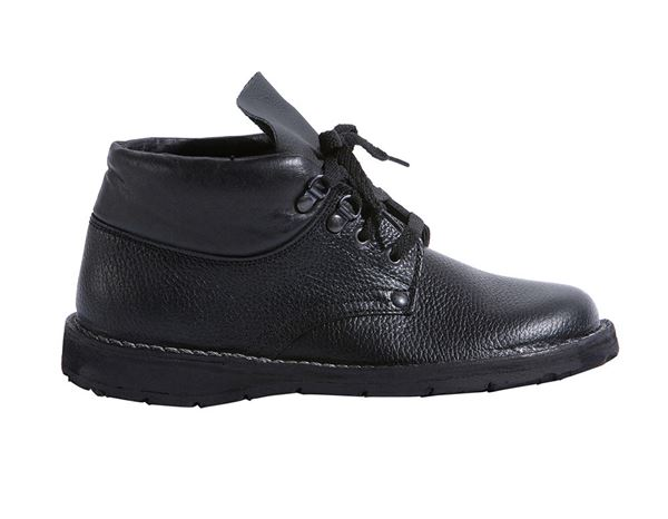 Work Shoes: Roofer's Safety shoes Super with laces + black