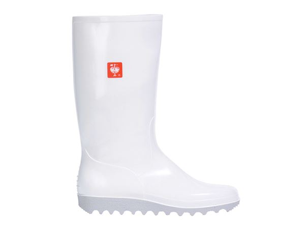 Wellingtons OB: OB Ladies' special work boots + white