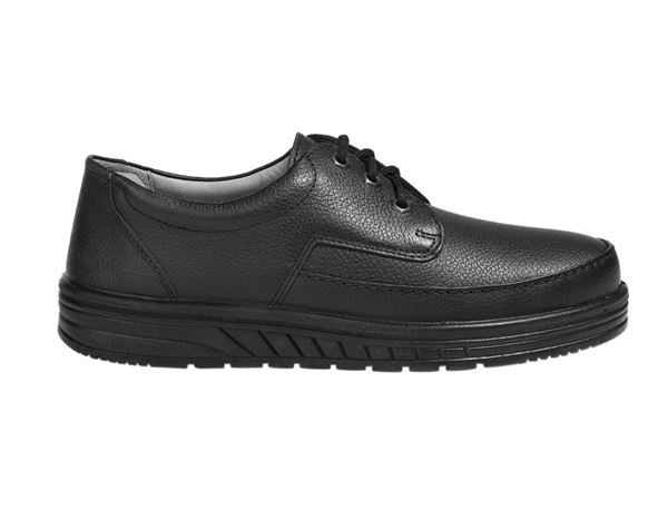 O1: ABEBA O1 Men's lace-up shoes Kai + black
