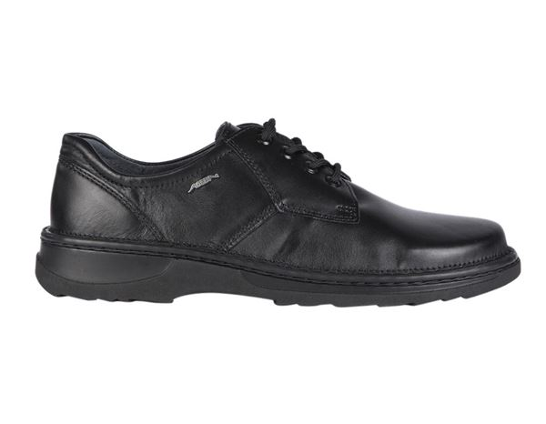 Work Shoes O1: ABEBA O1 Men's Reflexor shoes Nico + black