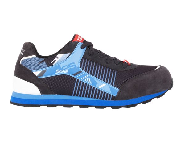 S1: e.s. S1 Safety shoes Sirius + graphite/gentian blue